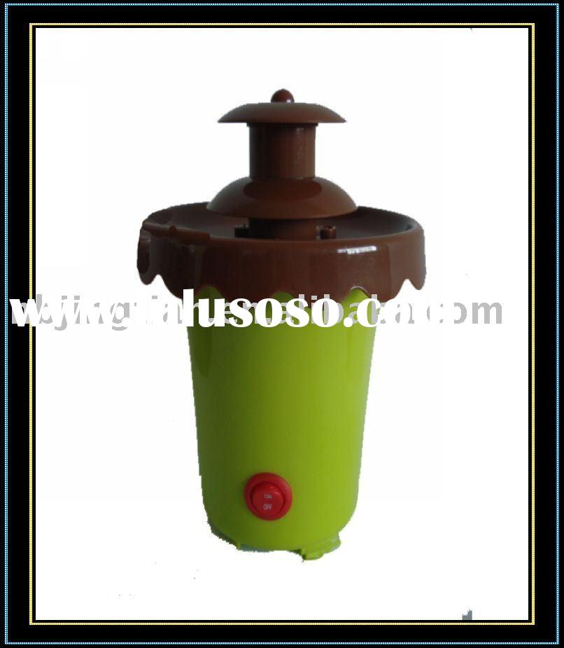 mini chocolate fondue fountain/chocolate fondue fountain for child.