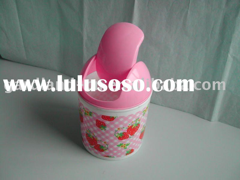 plastic trash can,mini waste bin
