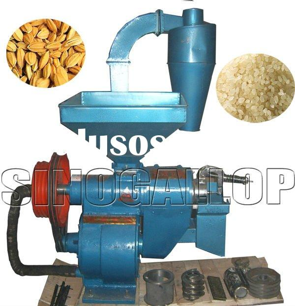 rice mill machine for eating