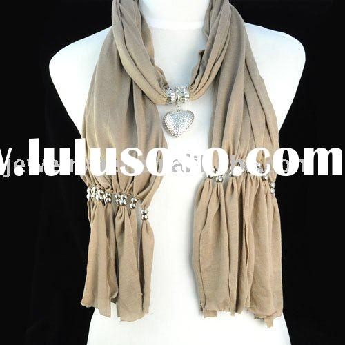 scarf jewelry ,scarf necklaces ,fashion necklace ,paypal ,free shipping ,nl-1006a