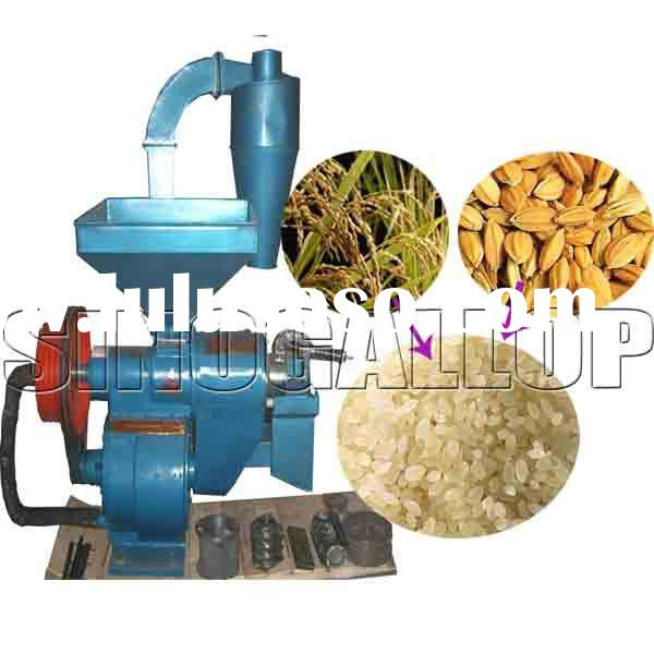 small rice mill with polishing function