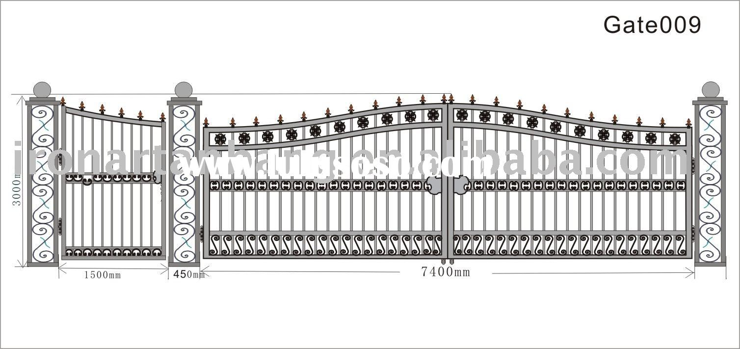 Steel Craft Gate Wrought Iron