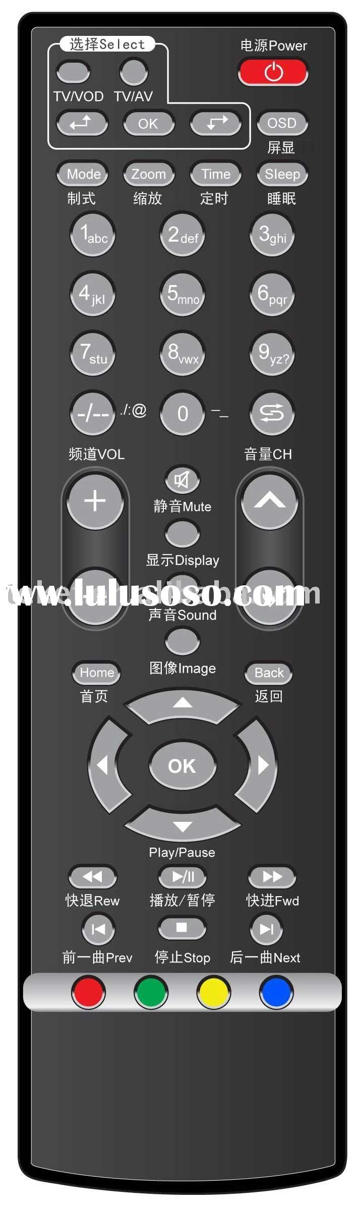 tv remote control, set-top-box stb remote control, two-in-one, tv and stb combo remote control R13