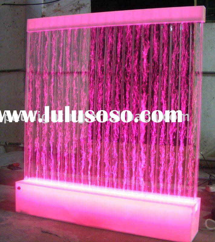water bubble panel,Free standing water bubble wall,indoor waterfall.fountain