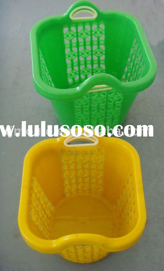 plastic trash can injection mold