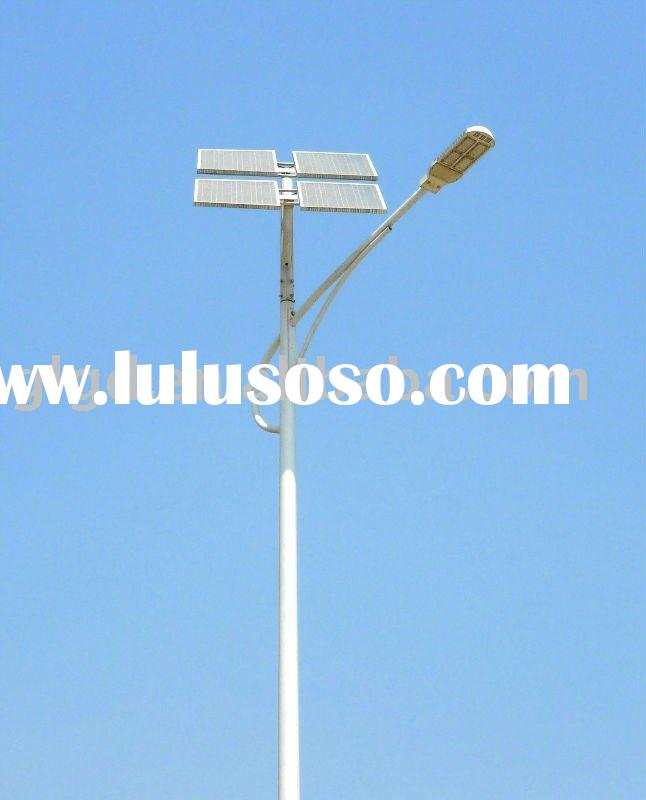 24V/12VDC solar led street lighting system