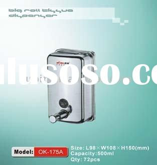 304 Stainless Steel Hand Liquid Soap Dispenser