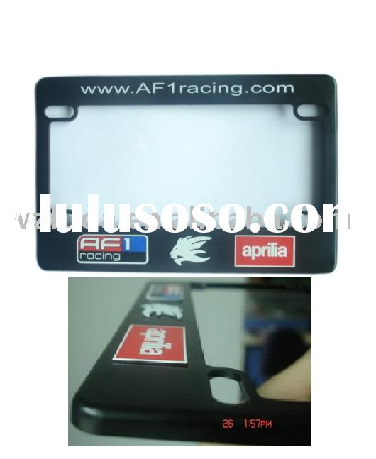 American motorcycle license plate frame