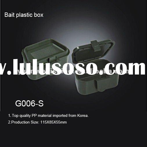 Bait plastic box Plastic fishing box Tackle box fishing G006-S
