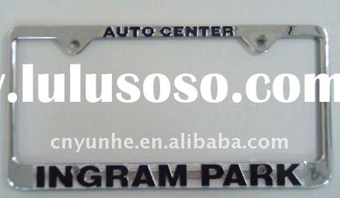 CAR Chrome Metal License Plate Frame Universal