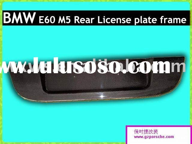 Carbon Rear License Plate Frame for BMW E60