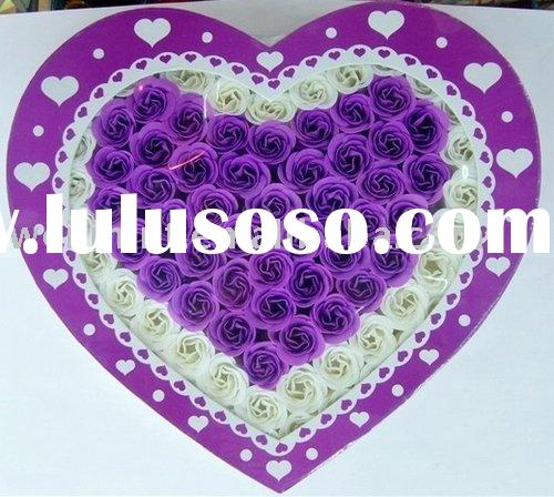 Handmade rose decoration bath soap flowers