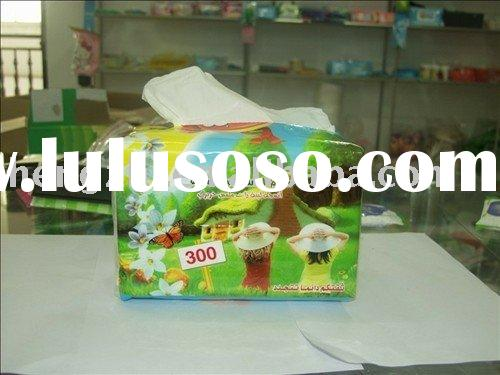 Soft Pop up Facial Tissue with bulk package