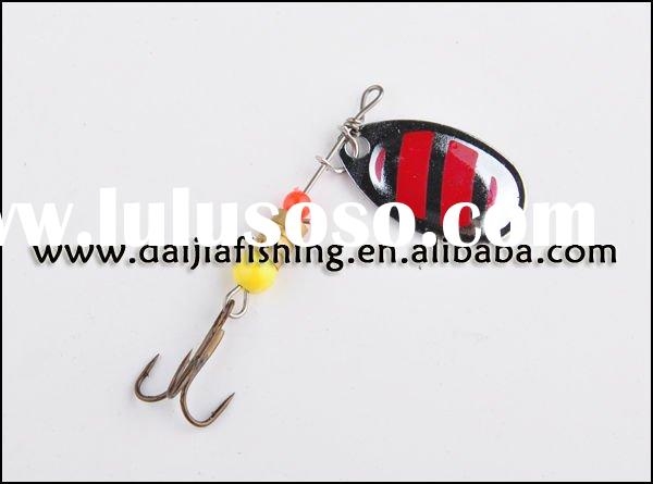 Wholesale and retail FISHING tackle Spoon Bait Fishing Lures with sharp hook