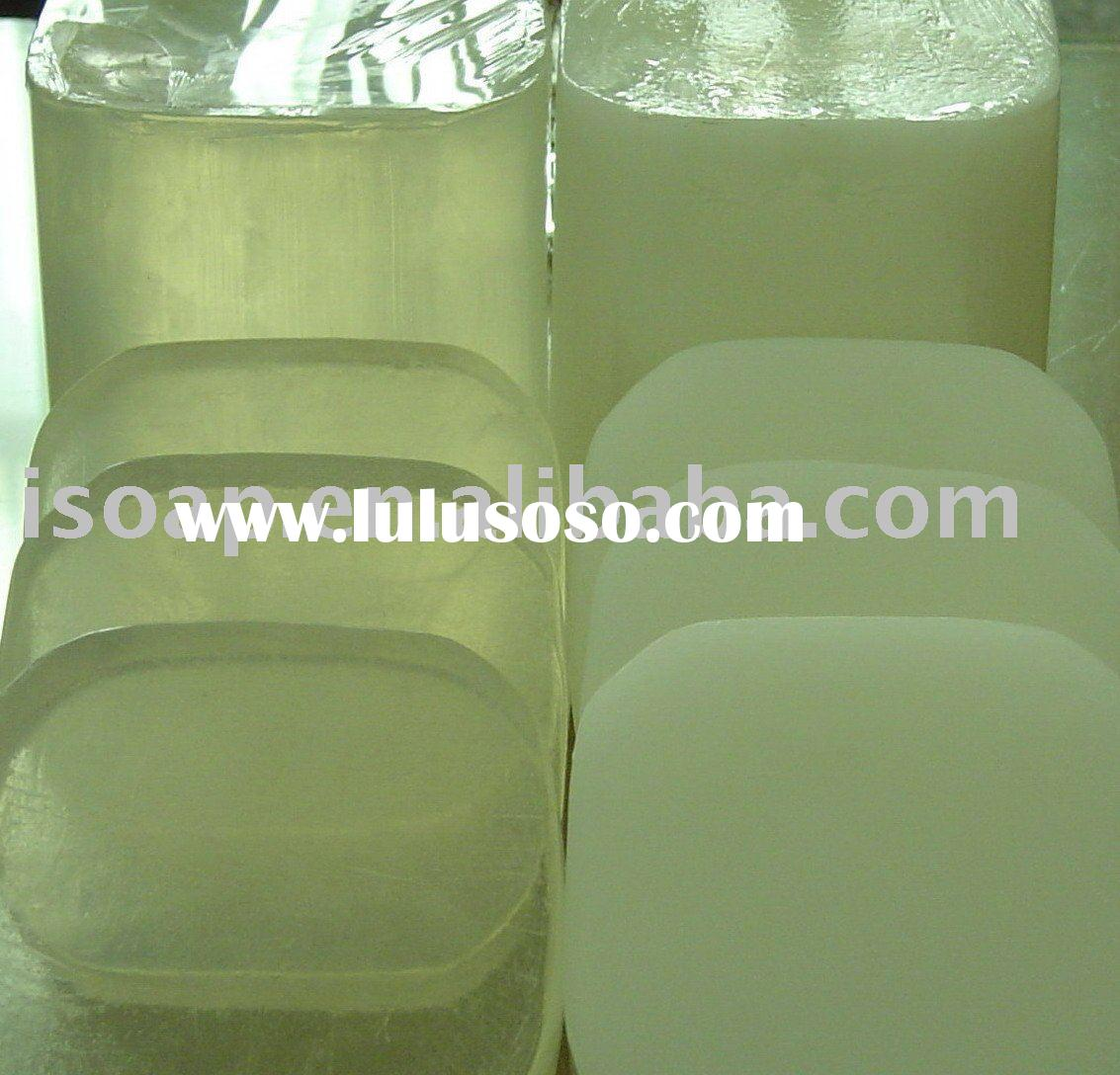 glycerin soap base/MP soap base/soap making base/transparent soap base