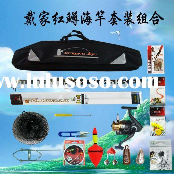 on sale! lure fishing set =hongzun 3m sea fishing rod and reel for salt water NEW 100% wholesale fis