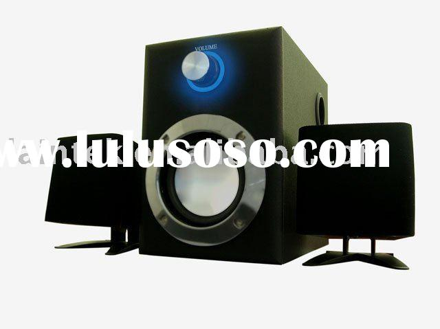 plastic cheap price 2.1 home theatre system