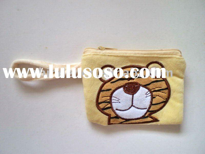 plush tiger tissue pouch,soft tiger tissue case, stuffed animals cosmetic bag, stuffed cartoon tissu