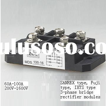 three phase bridge rectifier modules (San rex type)