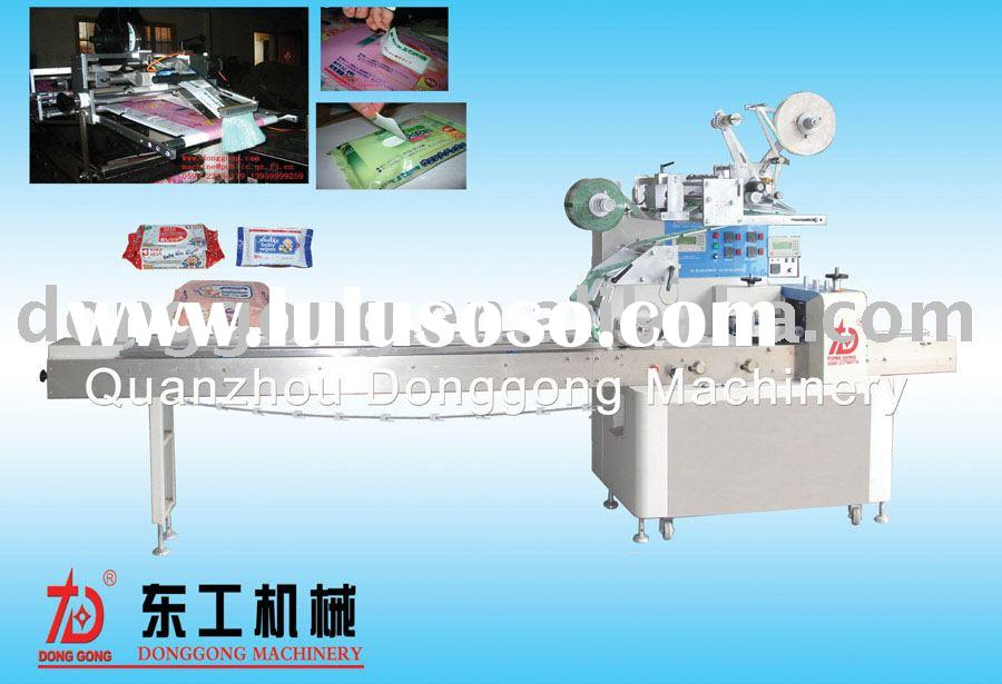 wet wipes tissue packing machine,paper packing machine,towel packing machine