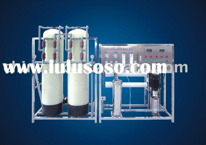 1000L/H RO water purification equipment with two filters