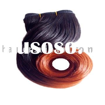 100%Human Hair Synthetic Fiber Body Weave 100%Remy Hair/European Hair/Artificial Hair