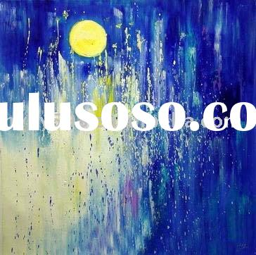 100% hand painted abstract oil painting