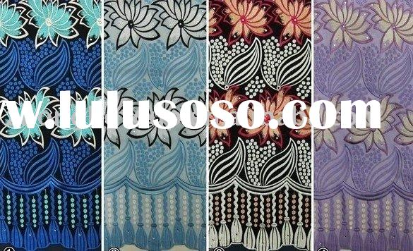 100% swiss embroidery voile lace , lace ,african lace