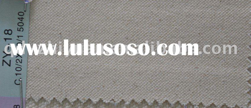 10/2*10/1 4030 12oz 100% grey cotton tote bag canvas fabric