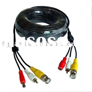 10meters video security camera cctv cables audio video cable for dvr