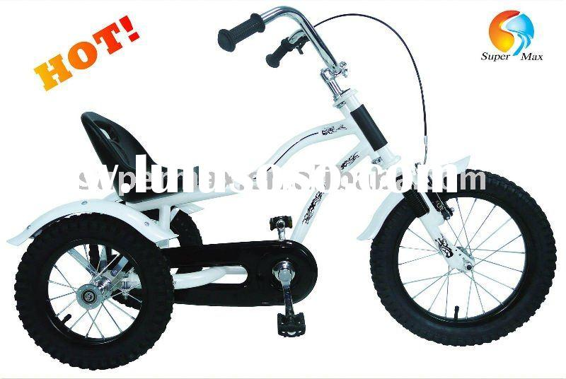 "12""Kids Tricycle Lastest Toybike Three-wheeler Mini Harley bike"