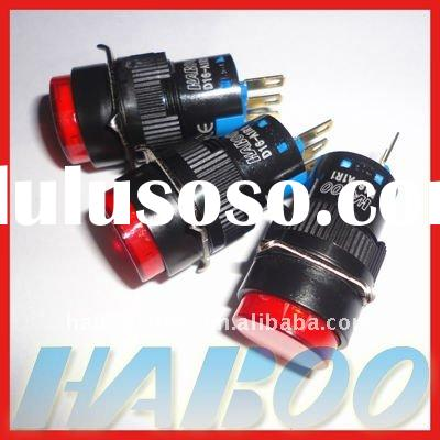 16mm 12v volt reset small push button switch