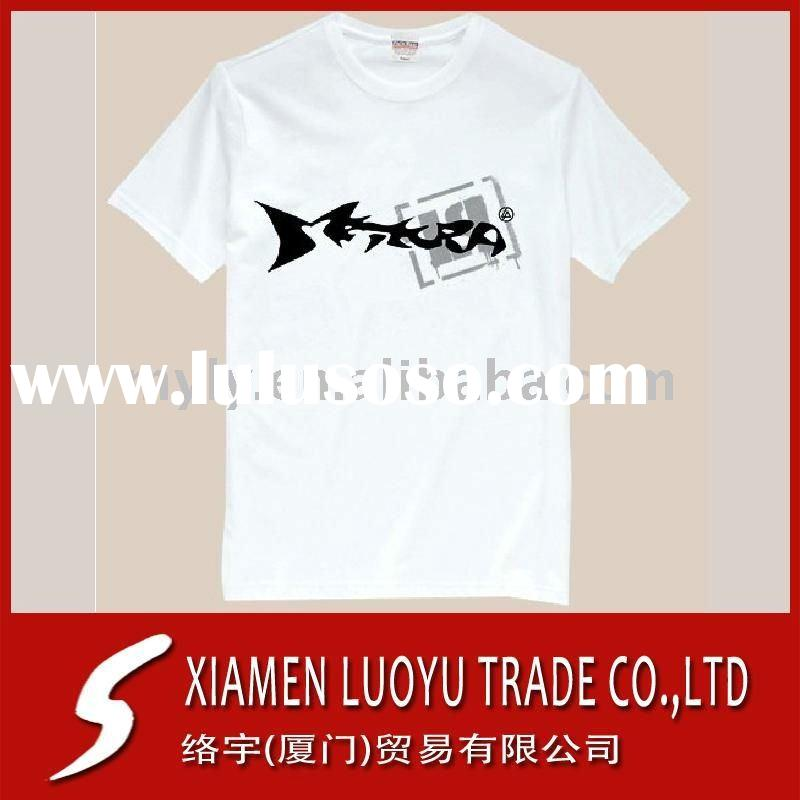 180G White T shirt Printing Service in China 2011