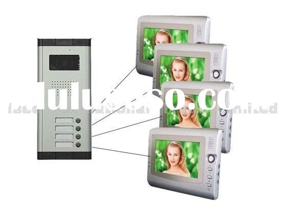 "1-4 7"" LCD Video Doorbell Door phone Intercom Doorphone"