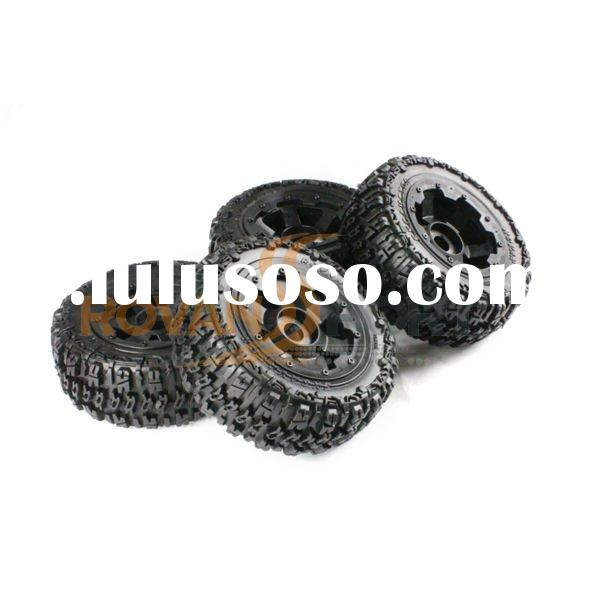 1/5 scale RC car wheel and tyres set