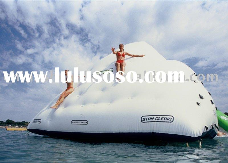 2010 inflatable island,inflatable water obstacle,inflatable floating iceberg