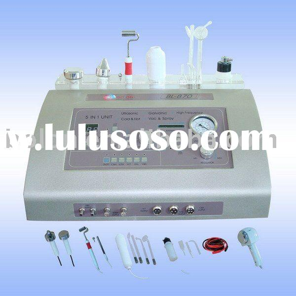 2011 5 in 1 BL-870 multifunctional ultrasonic high frequency beauty equipment
