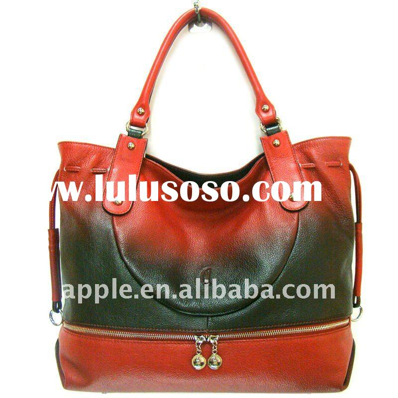 2011 Genuine leather handbag lady bags new fashion