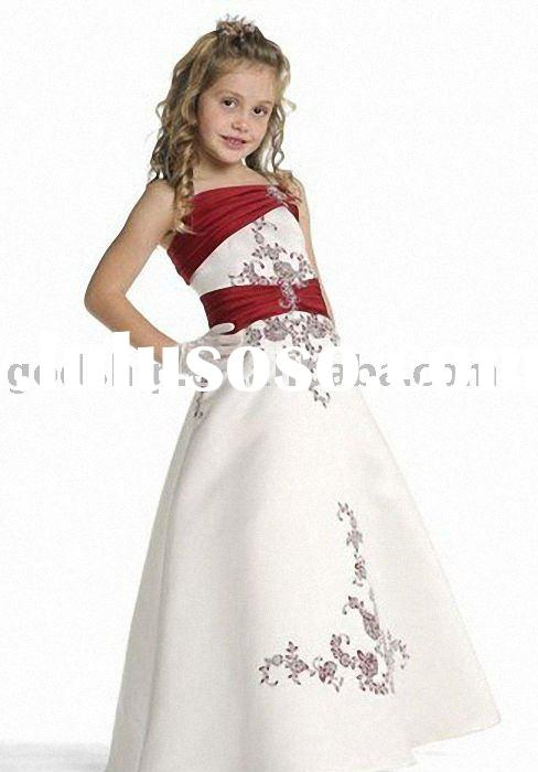 2011 Girl Dresses Flower Dress for Party Flower Girls' Dresses Children Clothing 0044