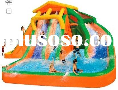 2011 HOT Inflatable water slide with pool for water park