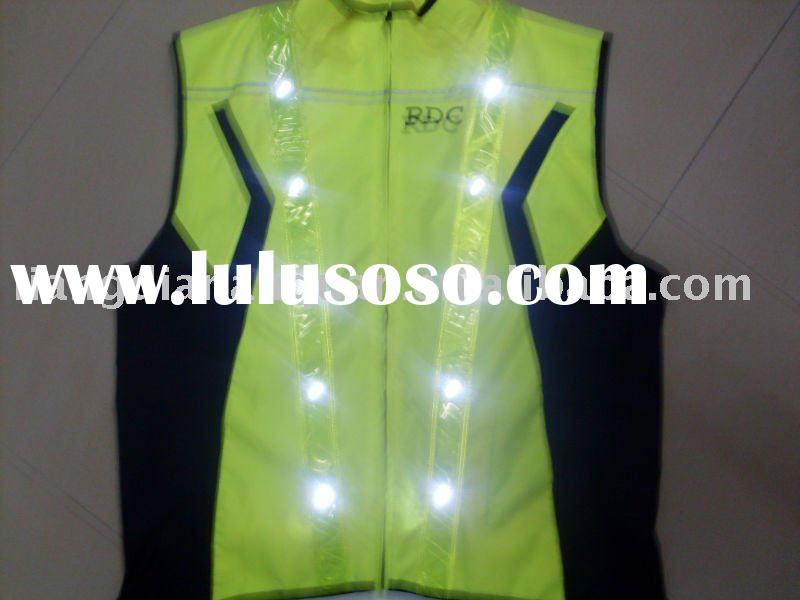 2011 High visibility led reflective safety vest