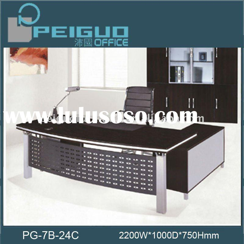 2011# PG-7B-24C office desk/executive table/office furniture executive desk
