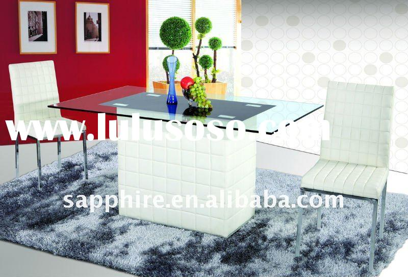 2011 Stylish Glass Dining Table for Home Furniture