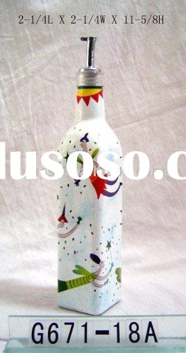 2011 fashion style bottle/Olive oil bottles /glass bottle/home decoration/glassware/glass crafts HOT