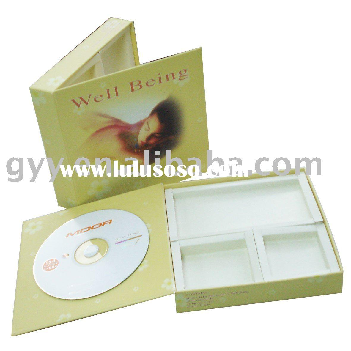 2011 new CD and Soap packaging paper box