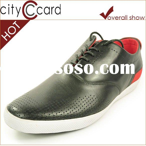 2012 leather shoes china