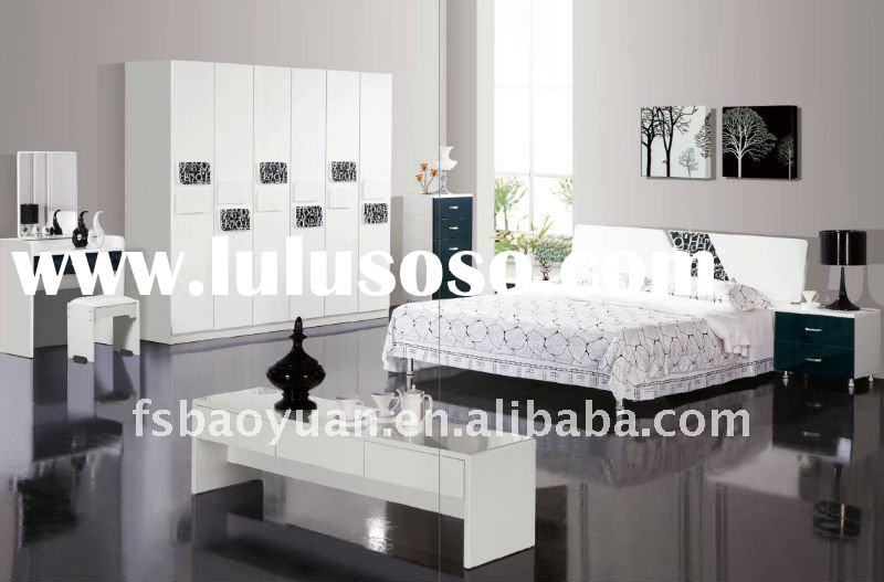 2012 modern design furniture bedroom set A001