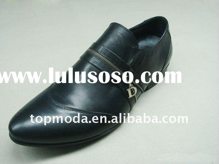 2012 new arrival European style Fashion Leather shoes for men