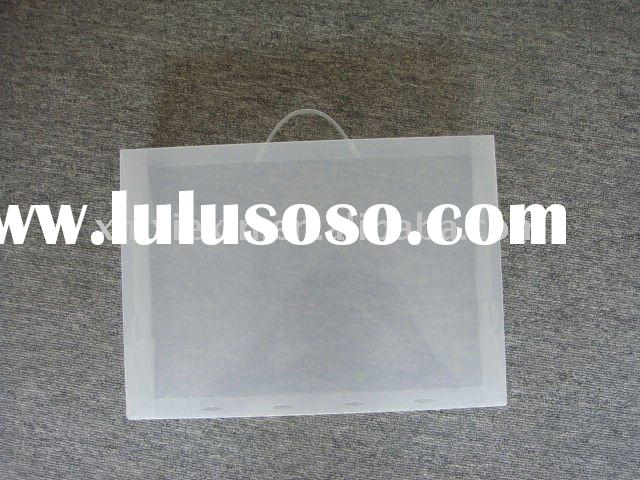 2012 new style Foldable Clear plastic PP packaging