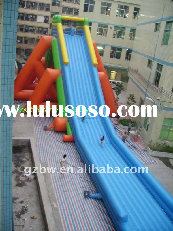 2012 water inflatable slide